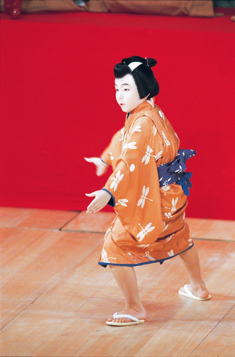 平成18年4月歌舞伎座『関八州繋馬』里の子竹吉