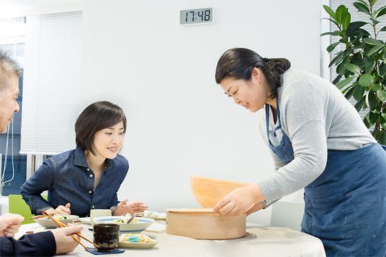 飯島食堂へようこそ。天海祐希さんと、副菜ごはん。 - ほぼ日刊イトイ新聞