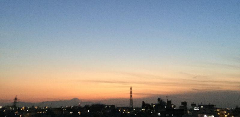 昼と夜の境目、夕焼け。 - ほぼ日刊イトイ新聞