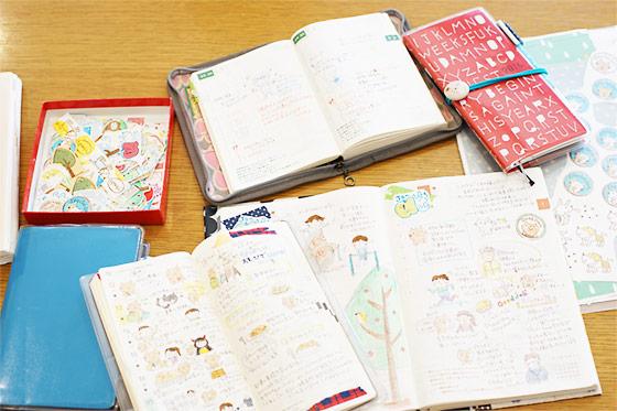 Lulu Cubeさん ほぼ日手帳でデビューしました ほぼ日手帳 16