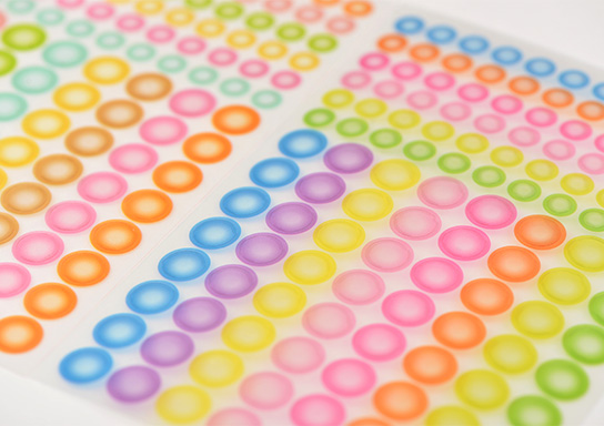 6mm Round dot Stickers Coloured Circles Small Circular Sticky Labels 32  colours | eBay