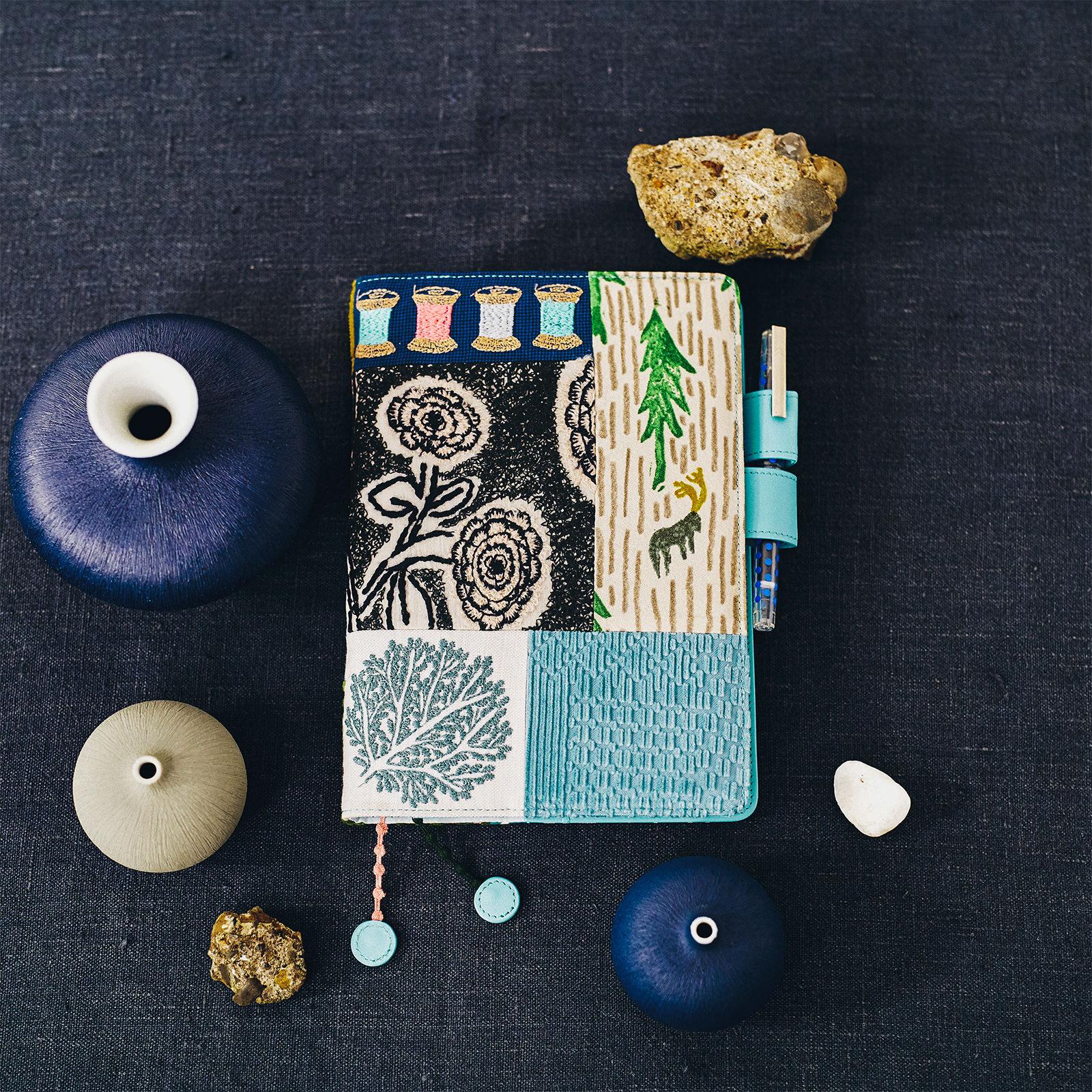 Details about  /Hobonichi Original A5 size notebook cover soda water patternd by Mina Perhonen