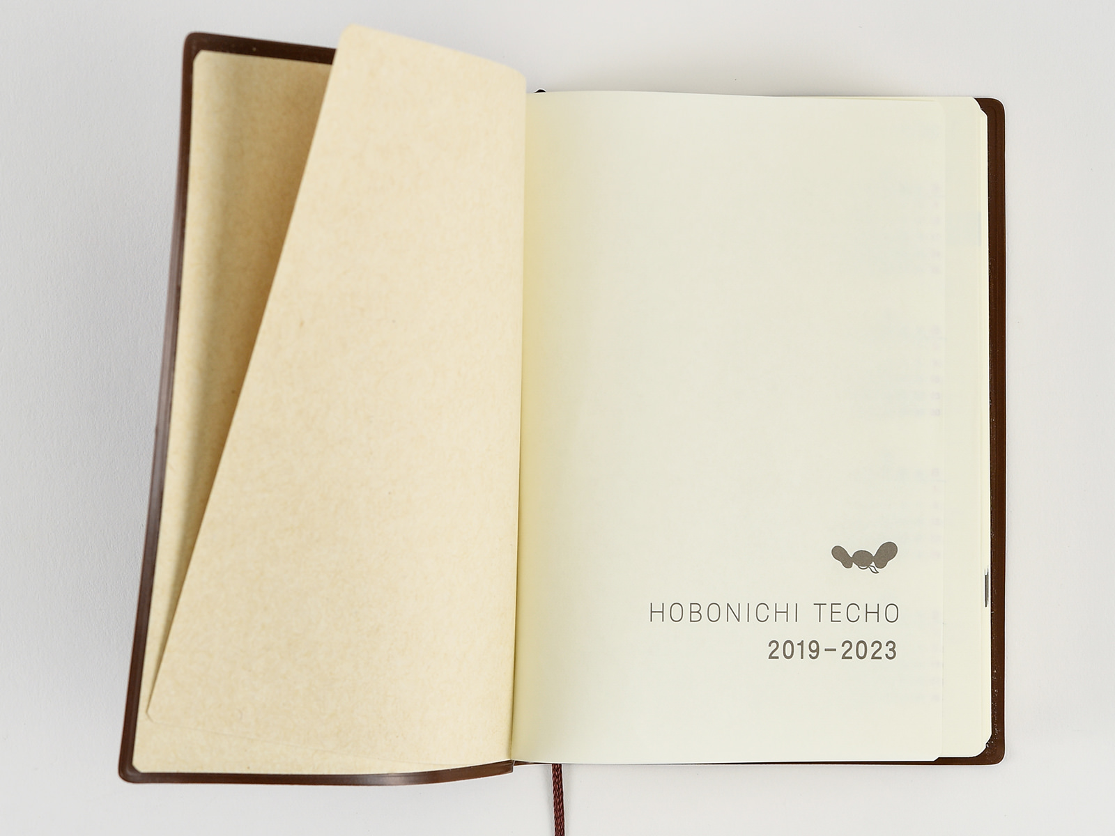 hobonichi techo 5 year techotitle page yearly calendar