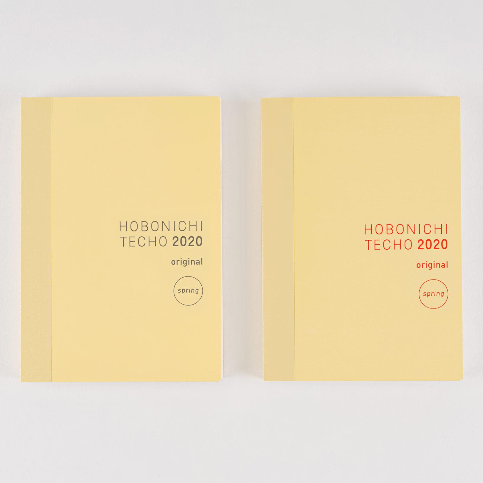 Hobonichi Techo Original Book Aprile Giapponese//A6//Apr 2020 Start//Mon Start