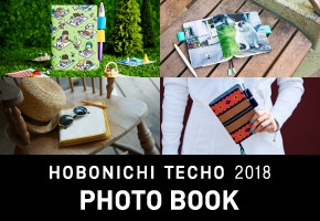 HOBONICHI TECHO 2018  PHOTO BOOK