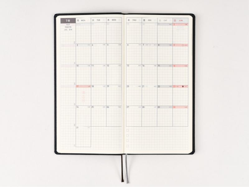 calendar write in