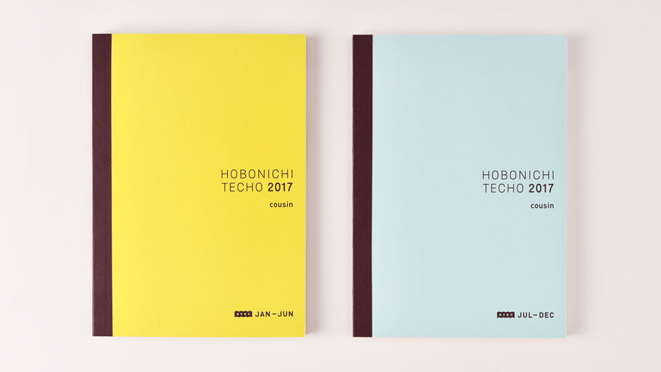 Hobonichi 2018 Memo Pad Set for Cousin from Japan