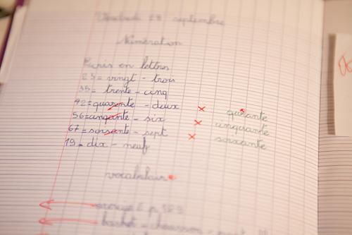 フランス語 数字 綴り